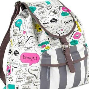 BENEFIT Pop Art Backpack NWOT